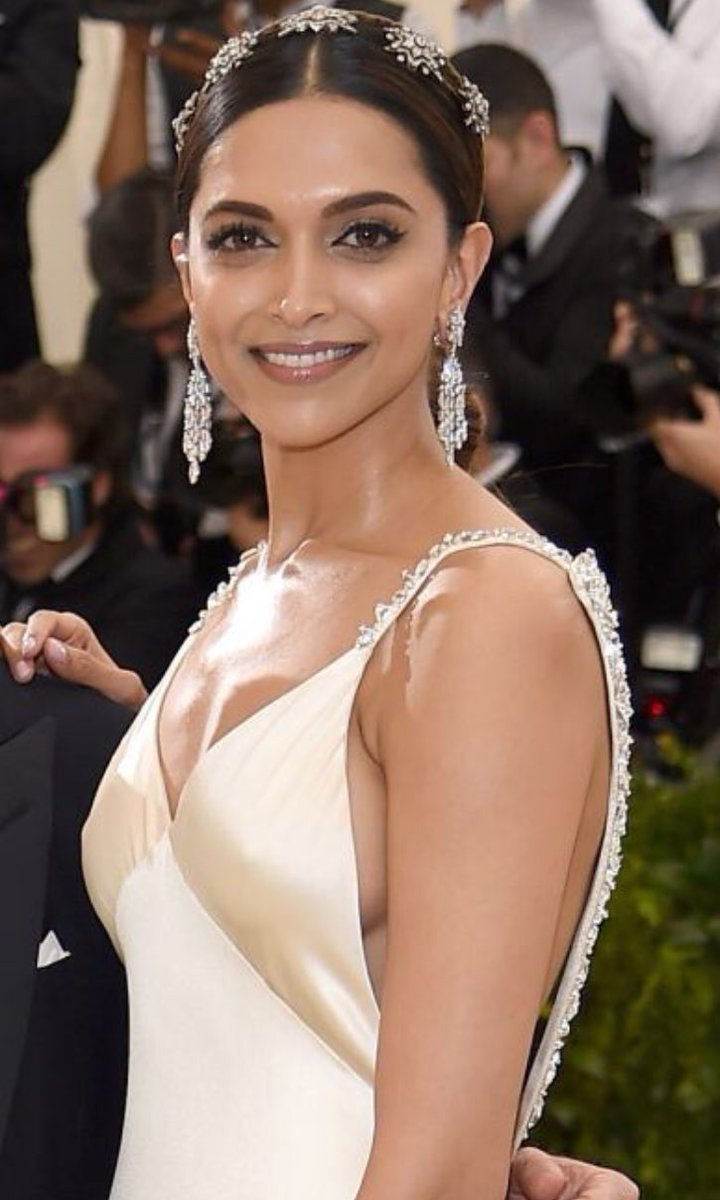 Deepika Padukone at Met Gala 2017 Red Carpet Stills