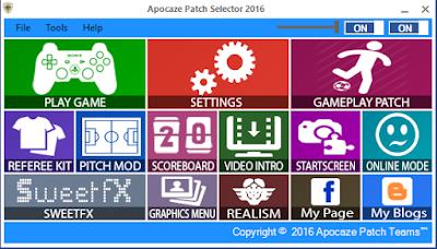 PES 2016 Apocaze Selector V1.0
