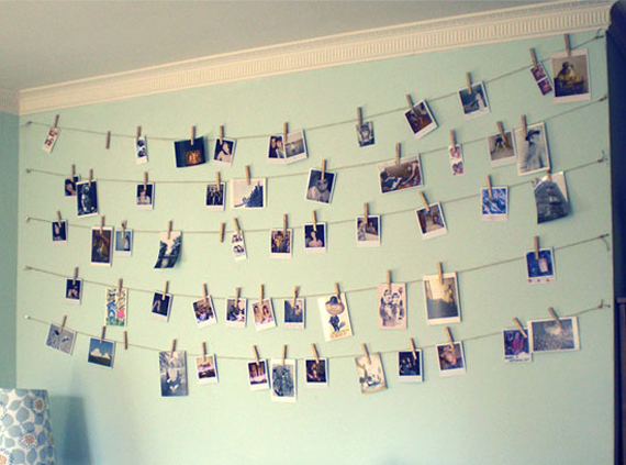 diy dorm decorating ideas. 2  Clothesline picture holders 16 Easy DIY Dorm Room Decor Ideas Her Campus
