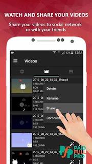 AZ Screen Recorder No Root premium APK