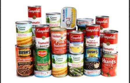 makanan kaleng berpotensi menyebabkan penyakit kanker
