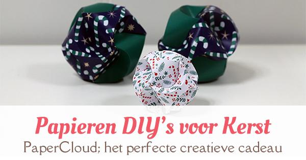 Vaak Creatief cadeau-idee: PaperCloud Christmas - MizFlurry @PG03