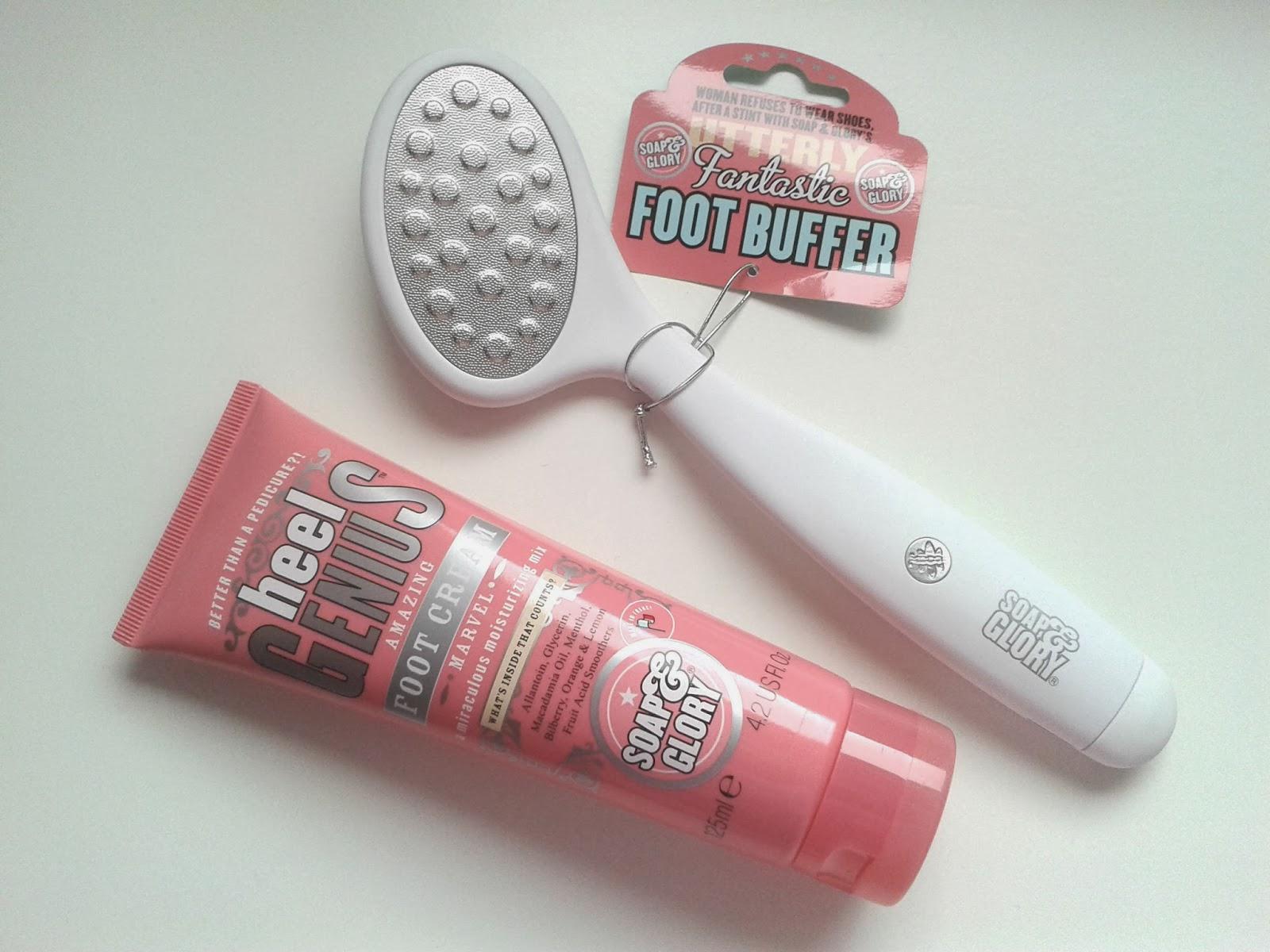 Soap & Glory Heel Genius Foot Buffer Review