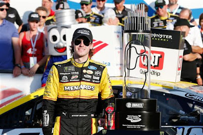 Ryan Blaney Scored his First #Win of the 2018 Season