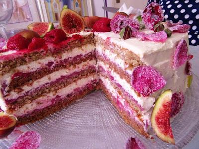 Ledena ruža - ljubavna torta / Ice Rose - Love Cake