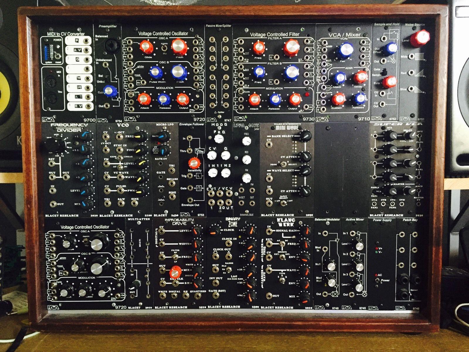 matrixsynth frac rack modular synthesizer system. Black Bedroom Furniture Sets. Home Design Ideas
