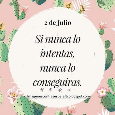 Frase del Día 2 de Julio