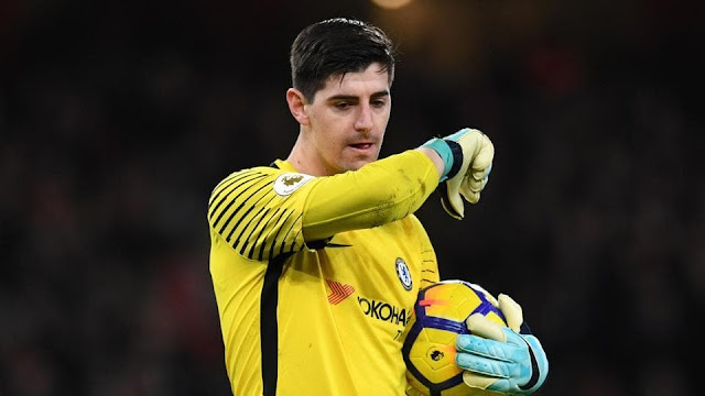 Thibaut Courtois backs Chelsea to seal Champions League spot