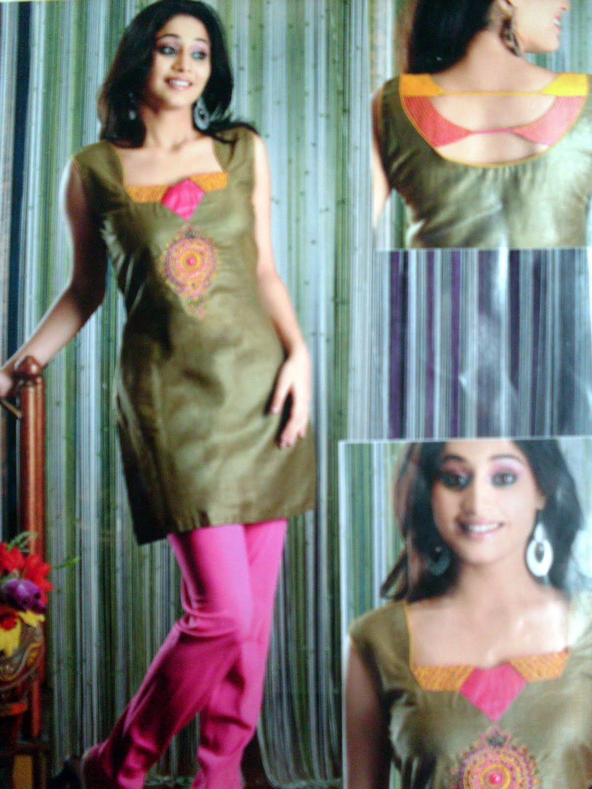 Salwar Kameez New Back And Neck Design