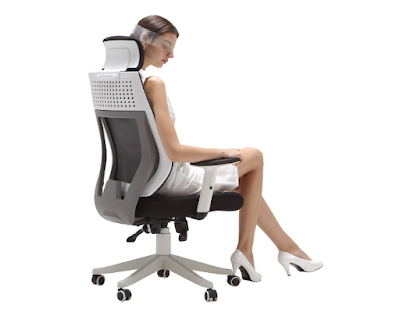 Hbada Ergonomic Office Chair - High Back Flexible Desk Chair
