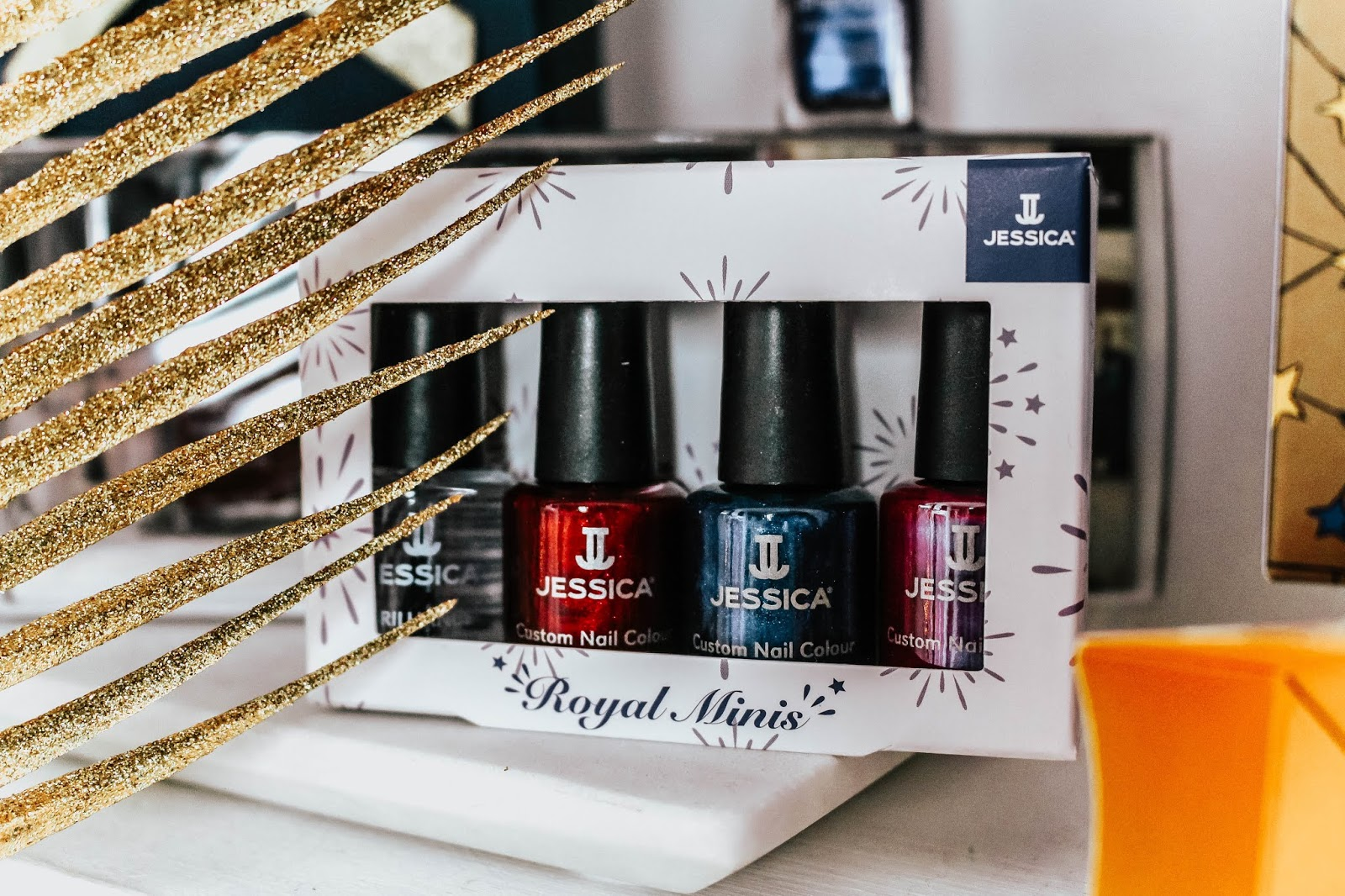 Jessica Nails Royal Mini Christmas Gift Set