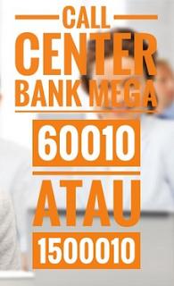 Nomor Telpon Call Center Bank MEGA Customer Service 24 jam bebas pulsa