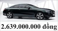 Giá xe Mercedes E200 Coupe 2018