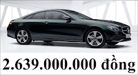 Giá xe Mercedes E200 Coupe 2019