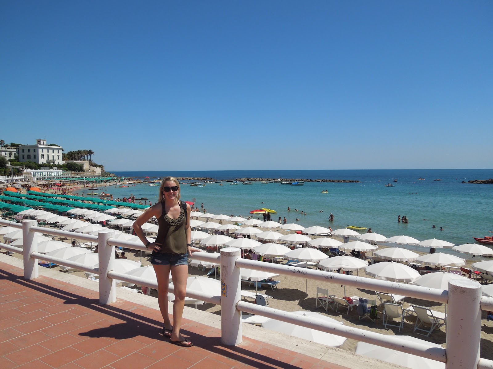 Santa Marinella Beach Italy When In Rome Do As The Londoners