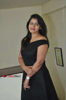 Telugu Actress Swathi Reddy Latest Stills in Black Gown  0049.JPG