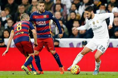 Isco nằm trong kế hoạch chuyển nhượng của Barca