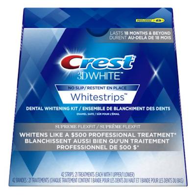Test Driving - Crest 3D White Whitestrips Supreme FlexFit!