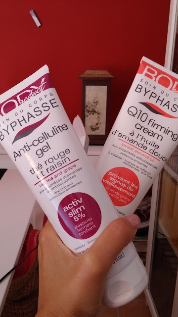 PROBANDO BYPHASSE ANTI-CELLULITE GEL Y Q10 FIRMING CREAM