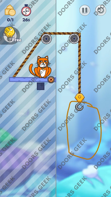 Hello Cats Level 17 Solution, Cheats, Walkthrough 3 Stars for Android and iOS