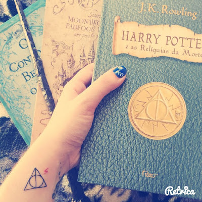 Harry Potter em minha vida - HappyBirthday J.K and Harry