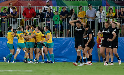 Australia Win's its First Olympic Gold in Women's Rugby Sevens at Rio 2016