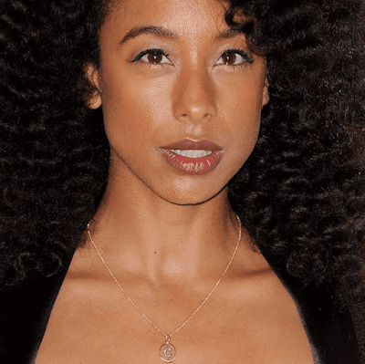 Corrine Bailey Rae in Annoushka Alphabet C Pendant