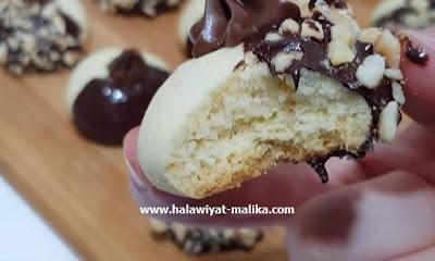 حلوة بالشوكولا هشة وسهلة