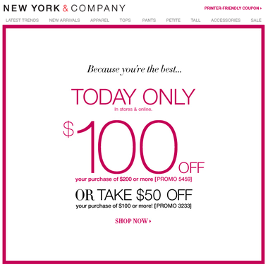 This includes tracking mentions of New York & Company coupons on social media outlets like Twitter and Instagram, visiting blogs and forums related to New York & Company products and services, and scouring top deal sites for the latest New York & Company promo codes.