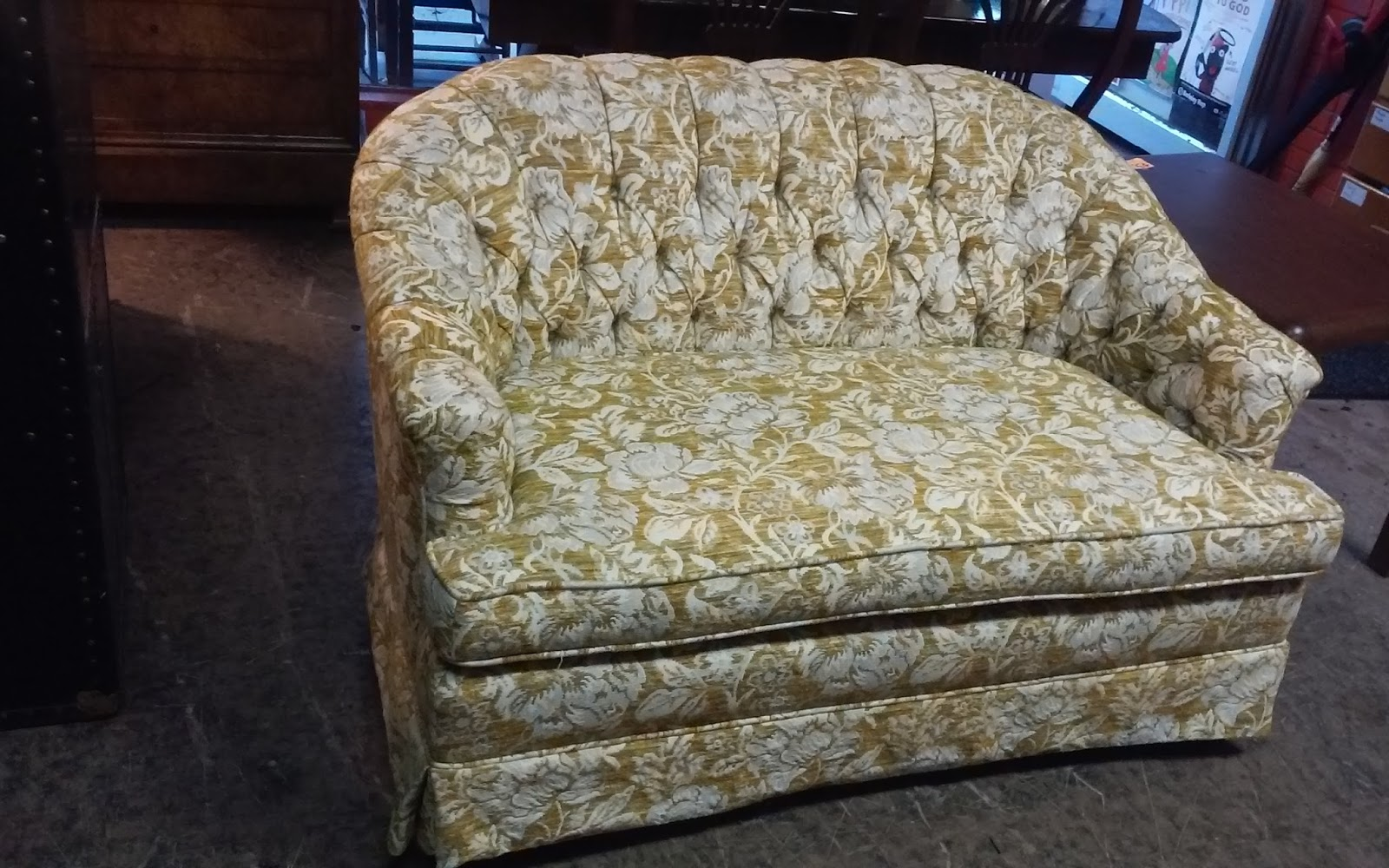 Uhuru furniture collectibles sold 39 70 39 s vintage floral for 80s floral couch