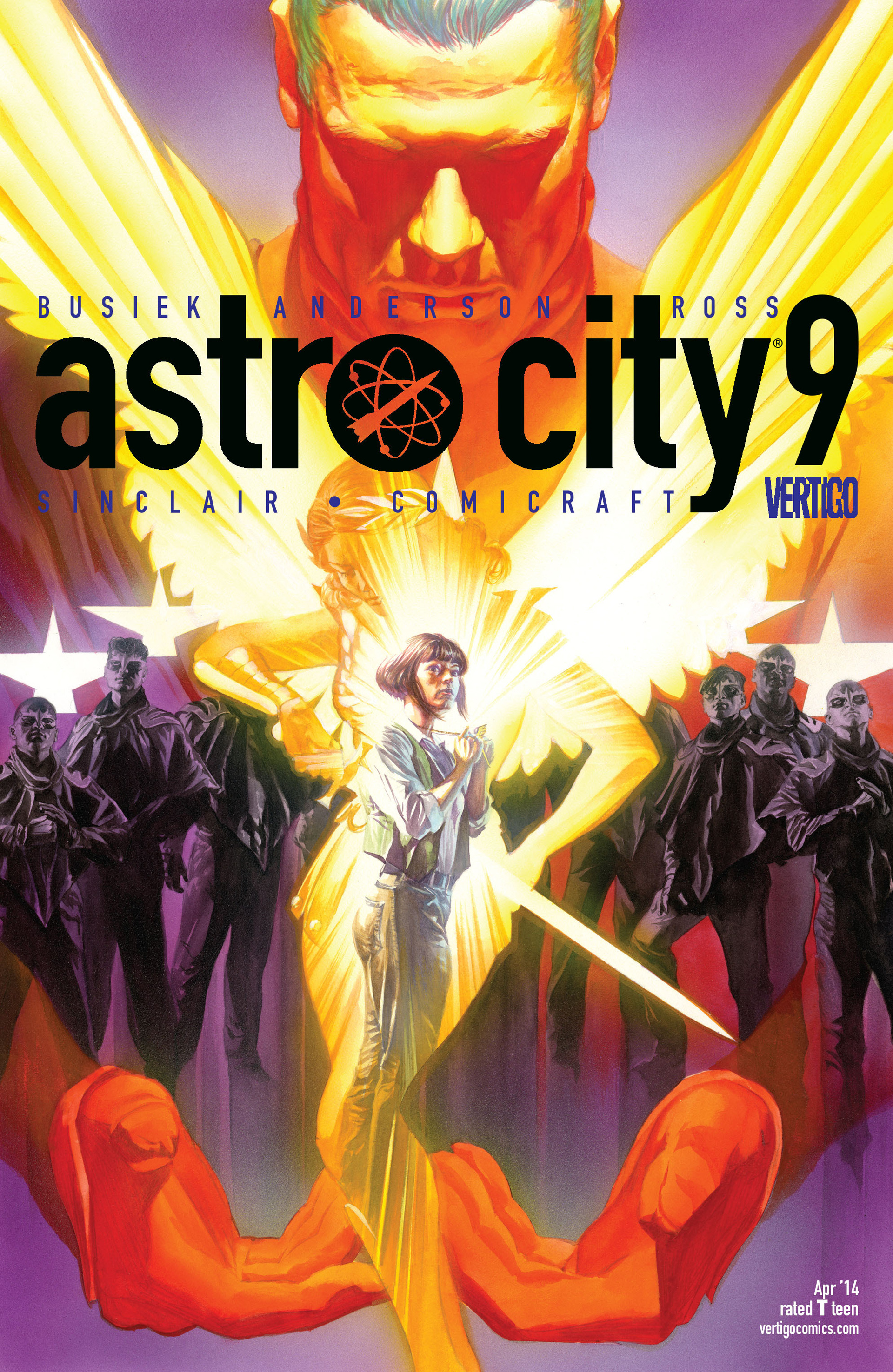 Read online Astro City comic -  Issue #9 - 1