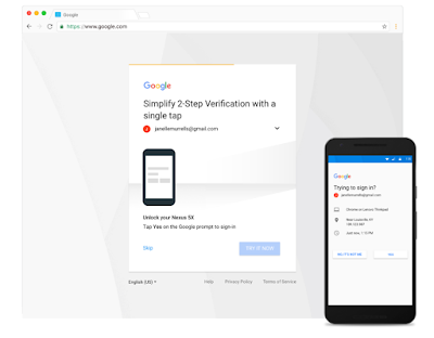 Google Login Security