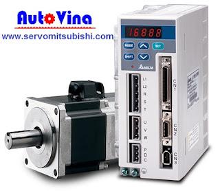 Nhà phân phối, tổng đại lý bán AC Servo Delta ASD-A0721LA, Motor ASMT07L250AK, động cơ ASMT07L250BK