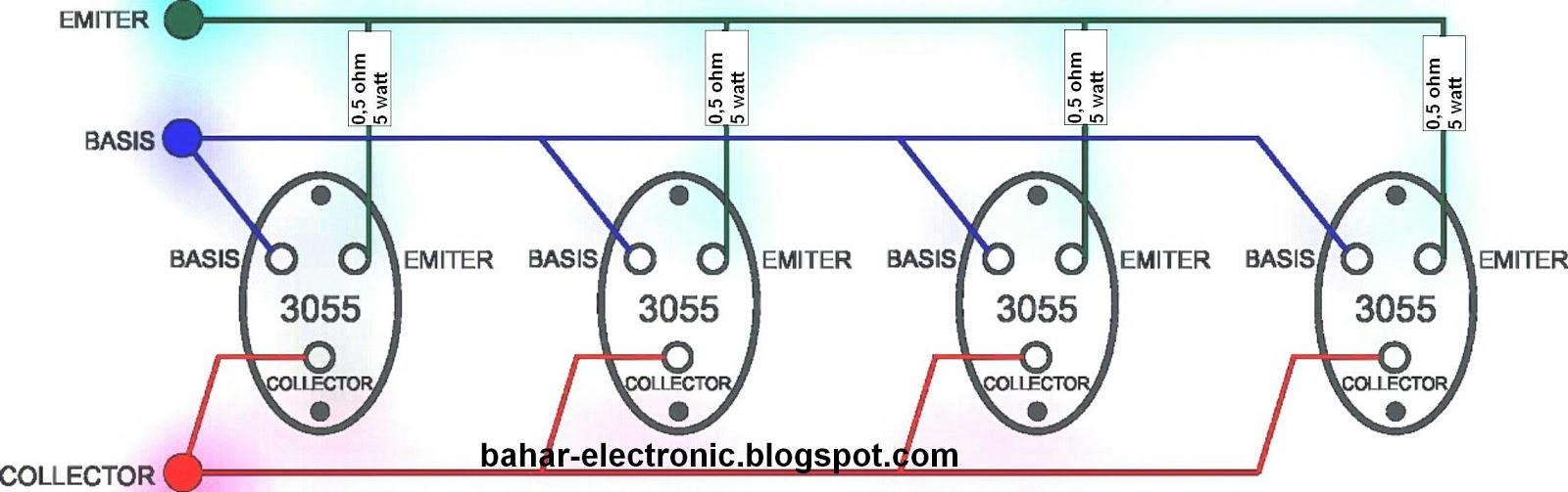 Image Result For Cara Memparalel Transistor Sanken