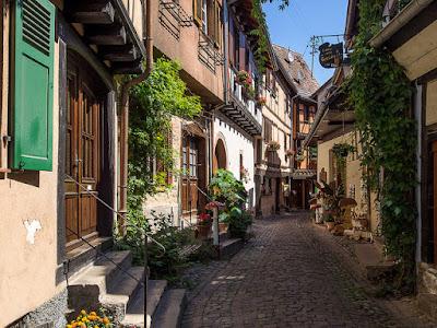 I vicoli del centro Callejones del centro - Colmar - Francia