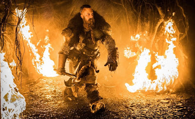 Kaulder before he is cursed, The Last Witch Hunter