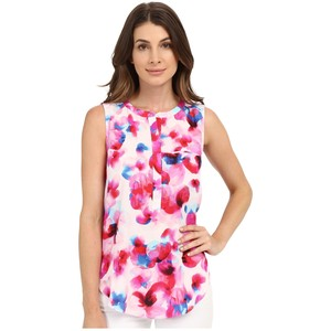 NYDJ sleeveless georgette blouse with pleated back, $78 from Zappos