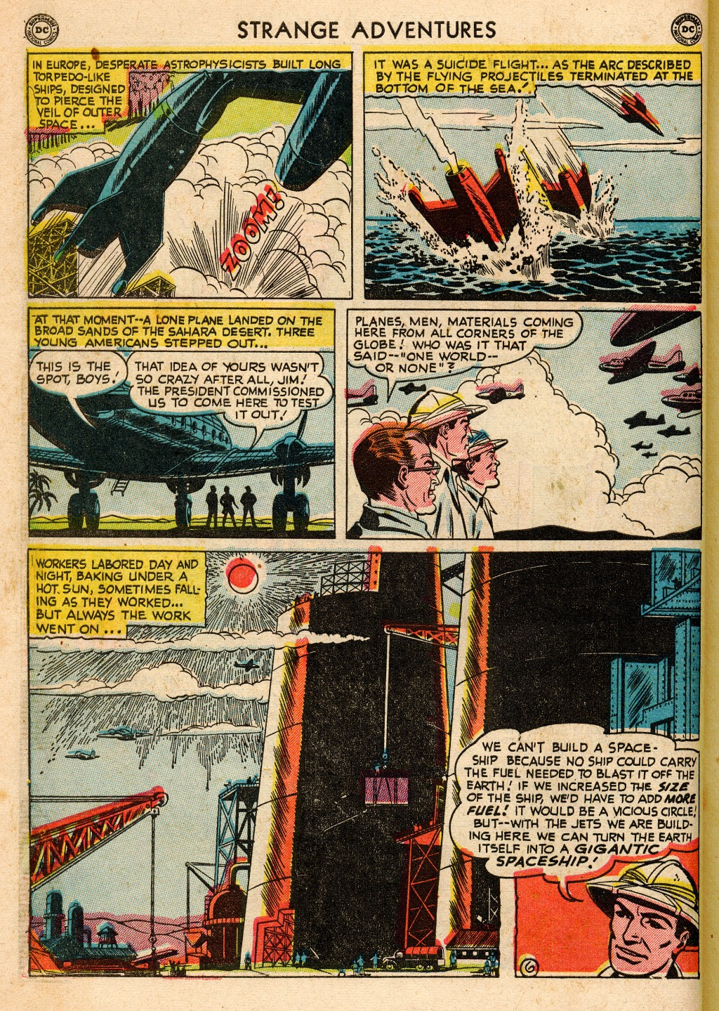 Strange Adventures (1950) issue 2 - Page 8