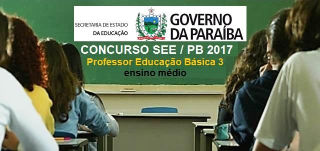 Apostila concurso secretaria de educa o pb professor for Concurso profesor