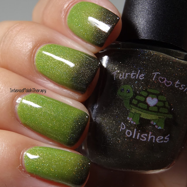 Turtle Tootsie Polishes - Frankenstein's Mask