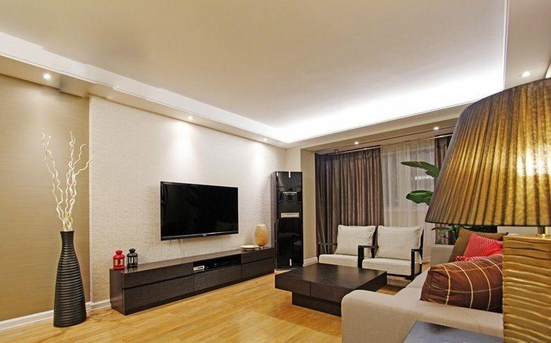 Salas modernas con muebles de tv colores en casa for Como decorar una sala moderna