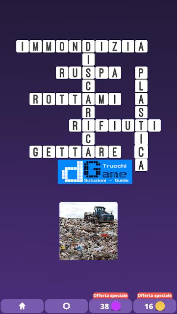 Soluzioni One Clue Crossword livello 16 schemi 11 (Cruciverba illustrato)  | Parole e foto