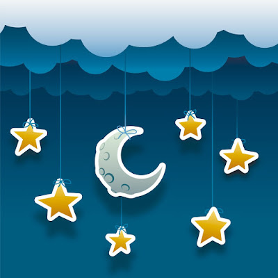 El cuento para niños de la luna y las estrellas