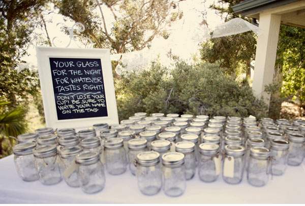 Glass Jar Wedding Decorations Awesome Decorations Burlap Mason Jars ...
