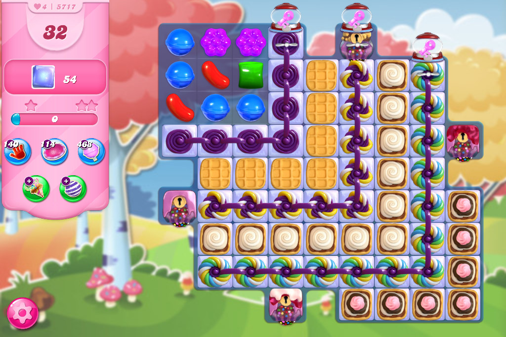 Candy Crush Saga level 5717