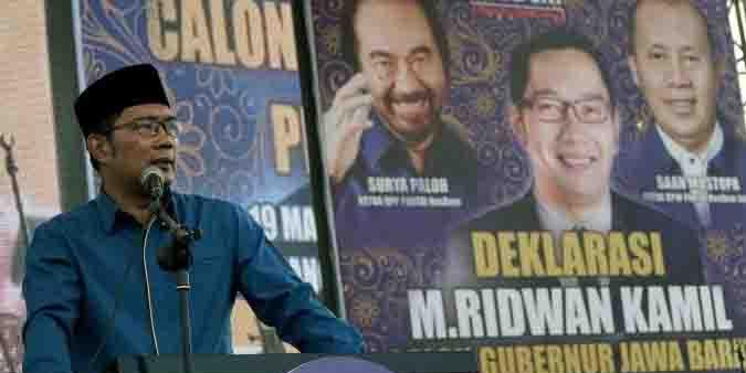 Berebut Cawagub, Koalisi Pendukung Ridwan Kamil Terancam Bubar