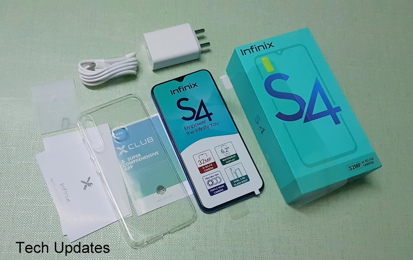 Infinix S4 Unboxing & Photo Gallery - Tech Updates