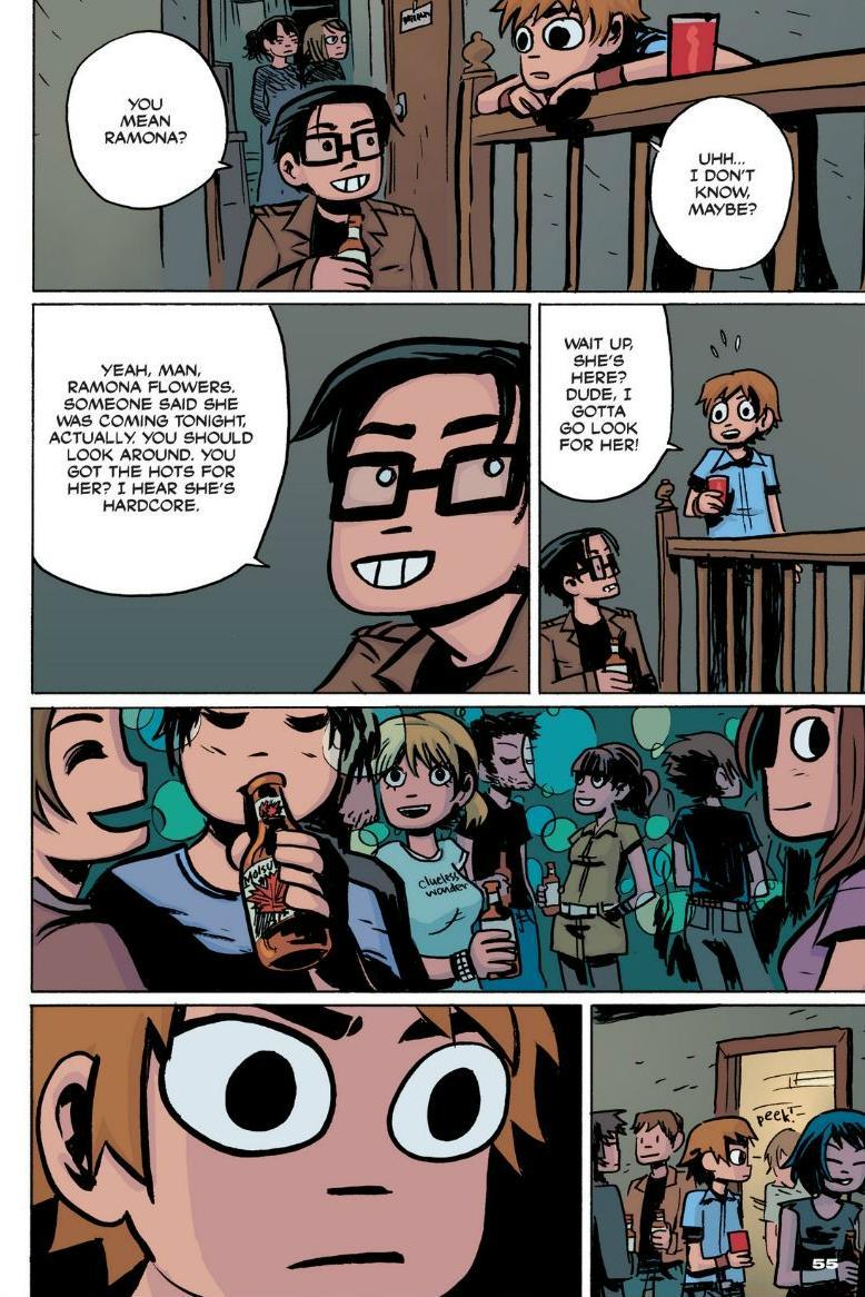 Read online Scott Pilgrim comic -  Issue #1 - 49