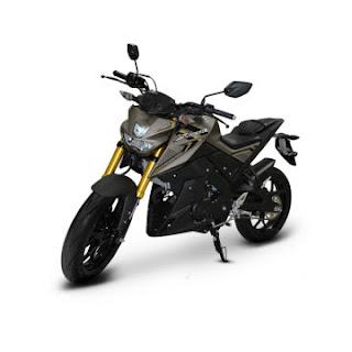 Dealer Motor Yamaha Xabre 150 di Solo warna hitam