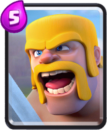 Carta Bárbaros de Clash Royale - Wiki da Carta